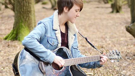 Singer-songwriter Annie May Adams, from Romford. Picture: Julie Atkins