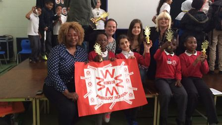 Winsor Primary School win spelling bee competition