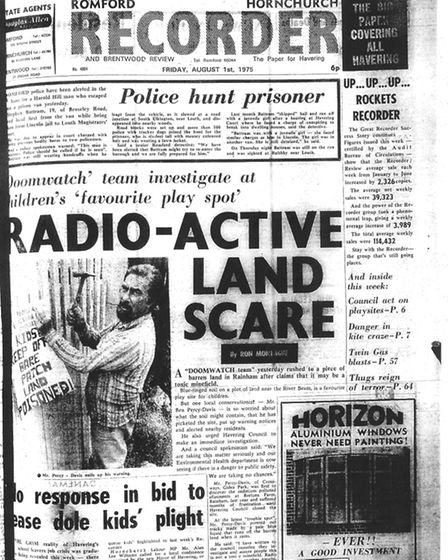 Romford and Hornchurch Recorder, August 1 1975