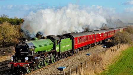The Cathedrals Express will be calling at Stratford on August 22