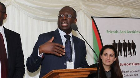 Professor Frank Chinegwundoh says prostate cancer is an urgent priority for Newham (Pic by Hear Me N