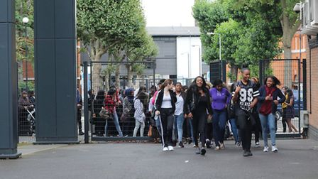 Sarah Bonnell students ready to get their GCSE results