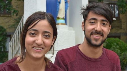 Twins Marco and Marianna Marcelline are heading to St Andrews together to study International Relati