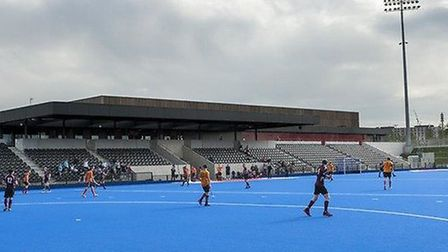 See top hockey players in action at Lee Valley Hocke and Tennis Centre