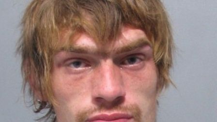 BEHIND BARS: Carl Horth has been jailed for begging and threatening behaviour in Lowestoft.