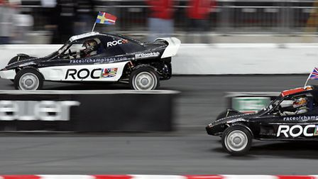Race of Champions takes place in November (picture: Stephen Pond/EMPICS Sport)