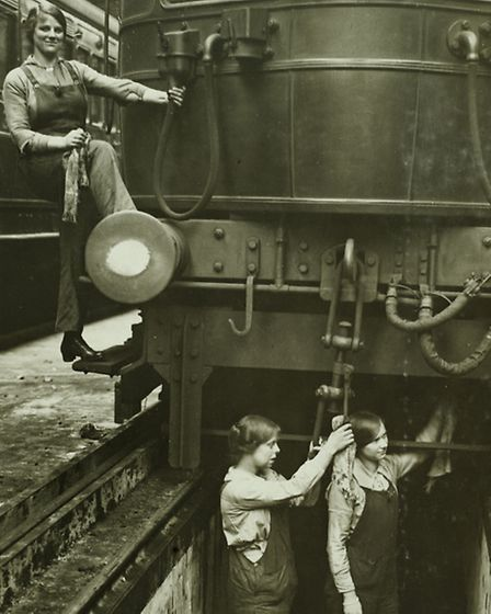 Railway cleaners for LSWR (picture: National Railway Museum)