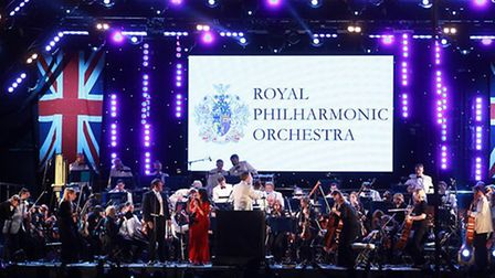 The Royal Philharmonic Orchestra performs at Under the Stars in Central Park, East Ham.