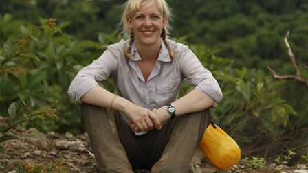 Sanders teacher Natalie Wickenden who led the expedition of students throughout Laos and Cambodia fo