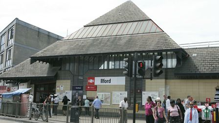 The area around Ilford station will receive investment from TfL.