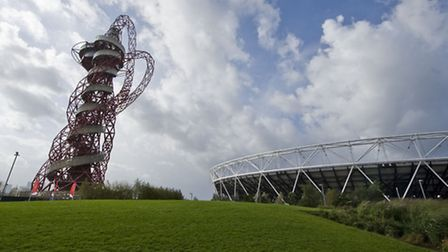The ArcelorMittal Orbit will house the world's longest tunnel slide