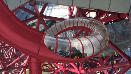 How the slide around the ArcelorMittal Orbit will look (Picture: LLDC)