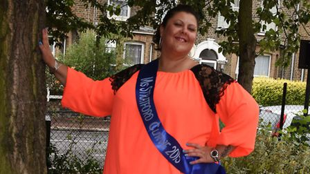 Mihaela Gogioiu who has reached the finals of the Miss British Beauty Curve competition