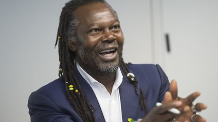 Levi Roots at City Hall (Picture: Ben Stevens/i-Images)