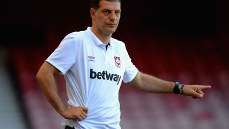 West Ham manager Slaven Bilic (Photo by Tony Marshall/Getty Images)