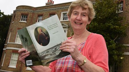 Author Georgina Green with her new book