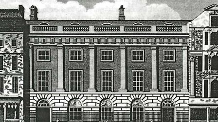 East India House as Sir Charles Raymond would have known it. Picture: London Metropolitan Archives