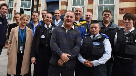 Police from across East London are going on the Twin Peaks challenge