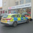 Police were called to Tesco, Ley Street, Ilford, following reports of three men detained for shoplif
