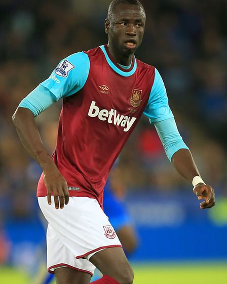 Cheikhou Kouyate's late goal earned West Ham United a point against Norwich (pic: Mike Egerton/Empic