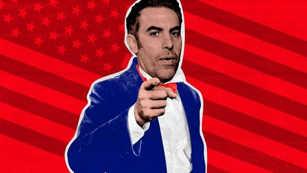 Sacha Baron Cohen is launching a new comedy show Who Is America? Photo: theringer.com