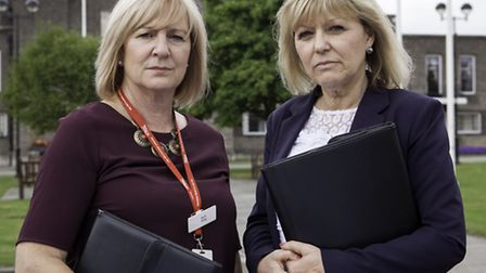 Ruth Kirkby and Leigh Stevens, Havering Council fraud investigators