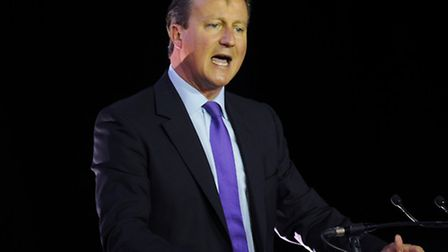 Prime Minister David Cameron is under pressure to allow more Syrian refugees into Britain. Picture: