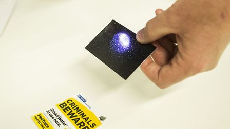 The security marking kits will contain SmartWater