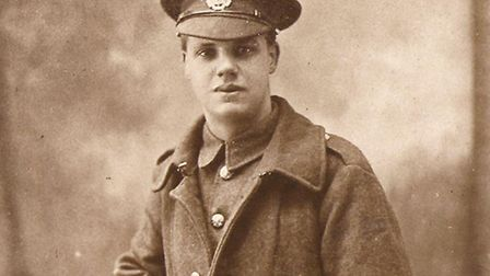 James Albert Varley is one of the soldiers honoured on the bells (picture: Lorraine Melanaphy)