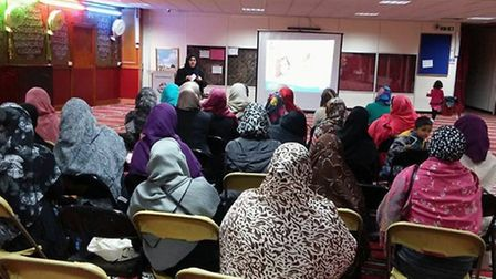 Mums were taught key concepts to protect their children on the internet Picture: Minhaj-ul-Qur'an