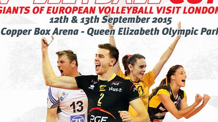 The London Legacy Volleyball Cup is being played at the Copper Box Arena on September 12-13 (pic: Vo