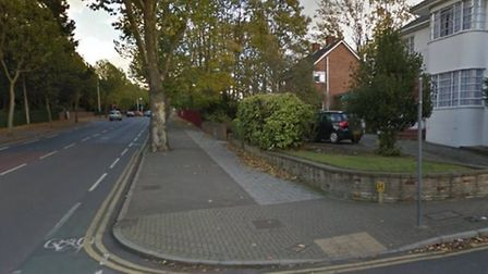 The crash happened at the junction with Lodge Avenue. Picture: Google Maps