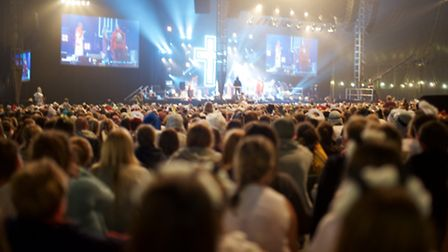 More than 9,000 worshippers came to Somerset's Soul Survivor festival (Pic by Jimmy Dale)