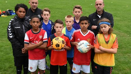 An under-11s football team is threatened with being turned out of Barkingside Park unless a fee is p
