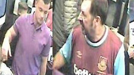 Police would like to speak to these men about the incident (Pictures: BTP)