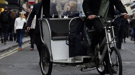 Rickshaw driver Hossain has been jailed for six months. Stock picture: Jonathan Brady/PA Images