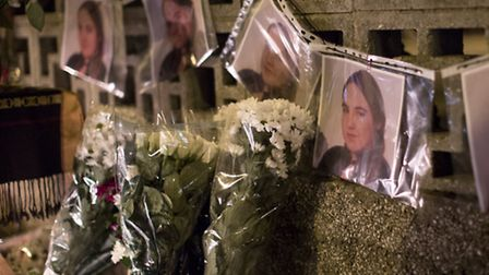 Neighbours and friends of murdered Magdalena Welna held a vigil on her memory