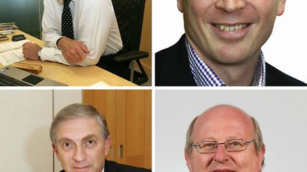MPs Iain Duncan Smith (top left), John Cryer (top right), Lee Scott (bottom left) and Mike Gapes (bo