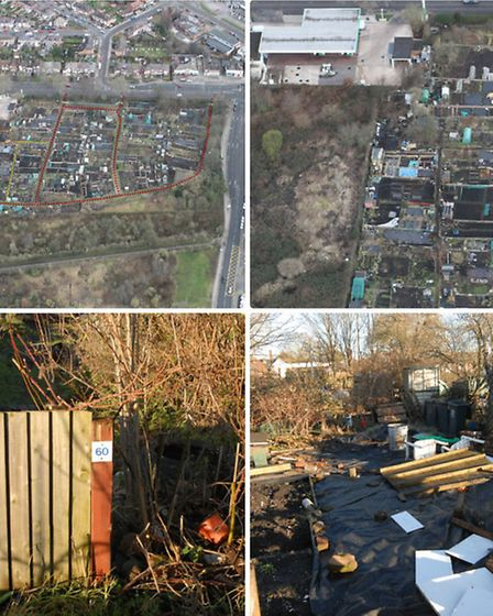 Roger Cooper's allotment, where Sameena Imam's body was buried after Cooper and his brother David ki
