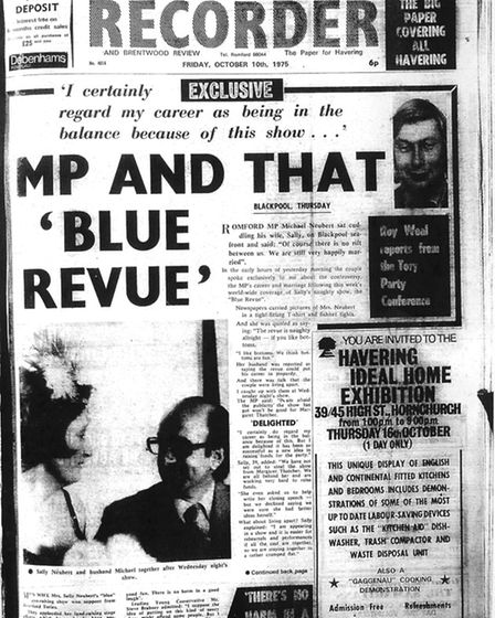 Romford and Hornchurch Recorder, October 10 1975