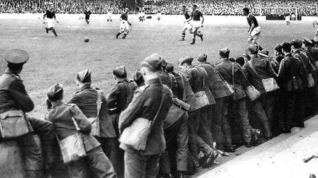 West Ham vs. Chelsea � The War cup Photo: Warhammers II: The Story of West Ham United During