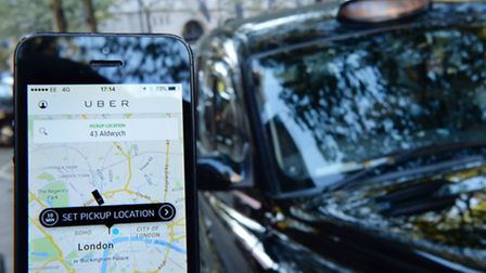 A high court decision is set to have a big impact on the future of Uber in London (Picture: PA Image