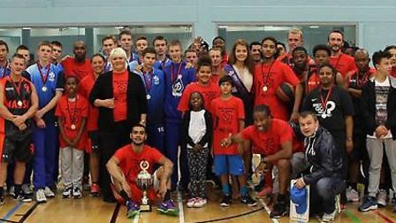 Carry A Basketball Not A Blade initiative launched by Newham All Star Sports Academy