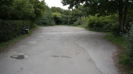 The recently improved car park