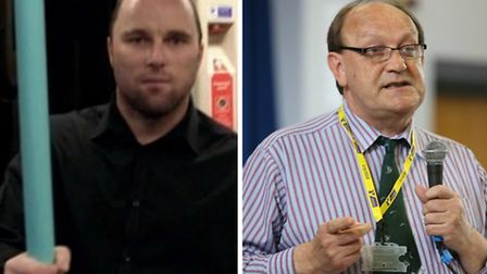 Left, Liberal Democrat communications officer for London, David Thorpe, and, right, Dan Oxley, Ukip'