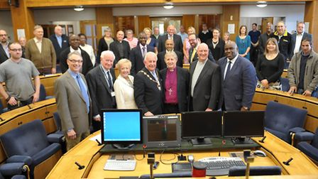 Faiths forum meeting at Havering town hall
