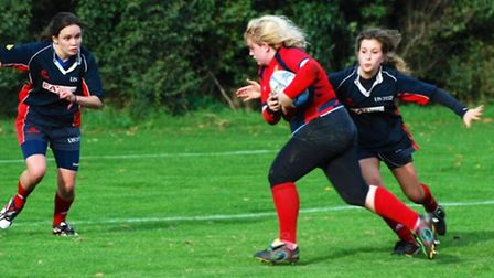 Harriet Orrell on the attack