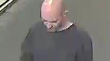 Police wish to speak to this man about an indecent act