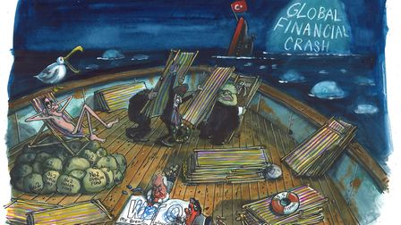 Michael White says the icebergs are looming as squabbling politicians rearrange the deckchairs. Pict