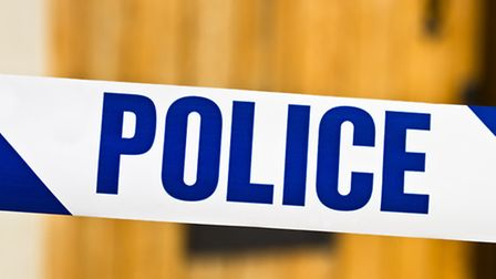 A man was stabbed in Romford last night